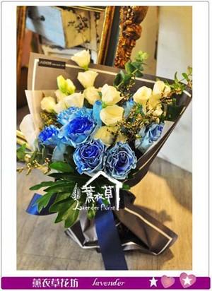 荷蘭進口玫瑰花束~情人節限定 107080815