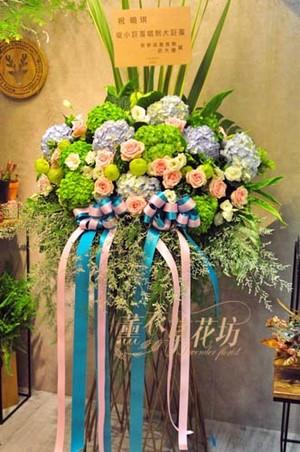 繡球花柱一個W15