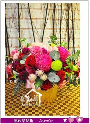 盆花設計 107022804