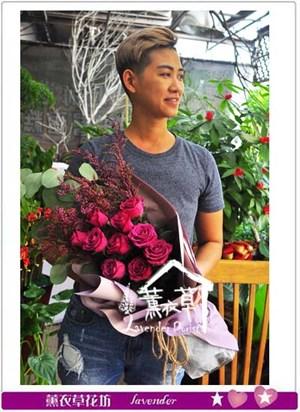 荷蘭進口 丹尼爾紫玫瑰 106092212