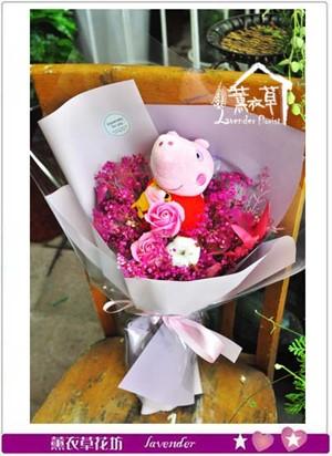 佩佩豬&乾燥花束107060906