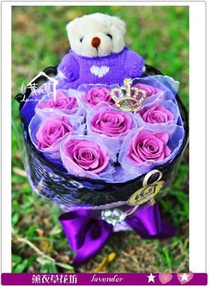 紫玫瑰~不凋花c030527