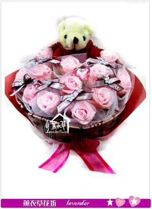 粉玫瑰~不凋花c030529
