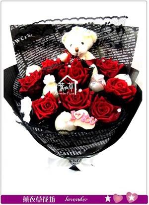 不凋花~ 紅玫瑰c031305