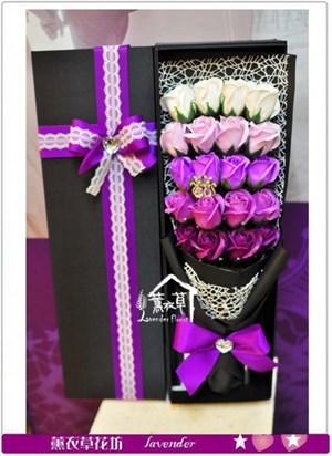 香氛玫瑰花盒~精品a122212