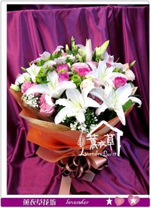 香水百合&桔梗花設計y344945