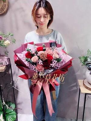 玫瑰花束設計107103107