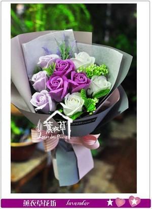 情人節特賣款*香氛玫瑰花束~隨機出貨~全省免運 107072701