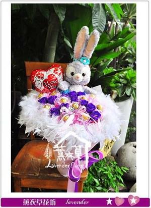 芭蕾兔兔 花束106062016