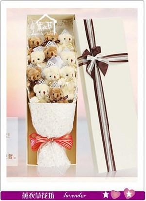 可愛熊熊歐式花盒~免運a041616
