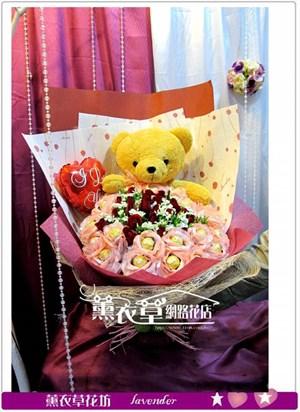 熊熊&金莎&玫瑰y34009